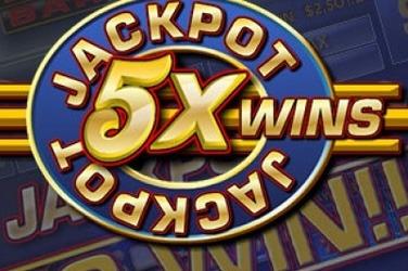 Jackpot 5X Wins