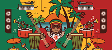 Reggae Themed Free Spin Slots