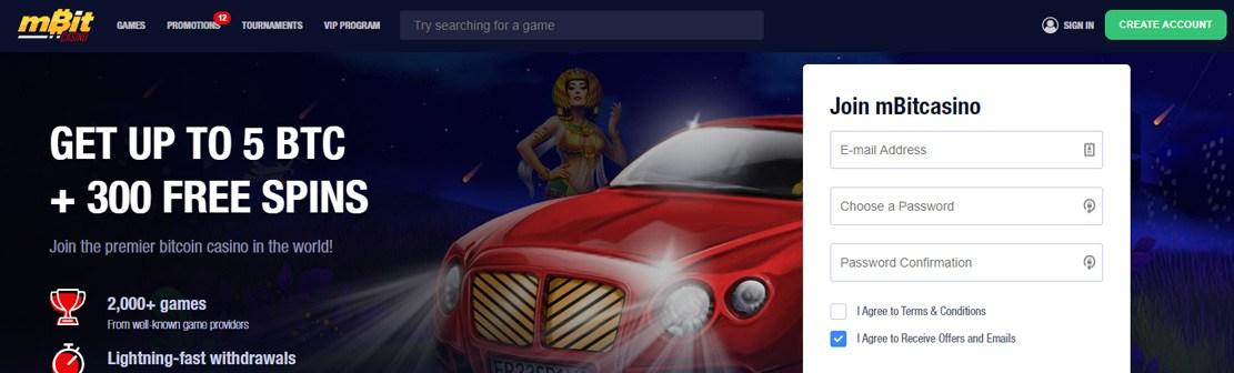 mBit Casino Review
